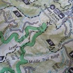 Trails Illustrated Map, National Geographic