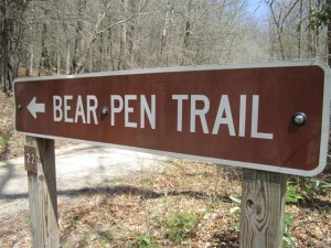 Bearpen Sign