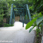 The historic Nickajack Bridge on the Greenway.