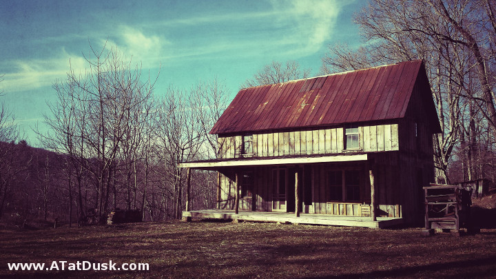 Rustic Farmhouse on the Tessentee Bottomlands Preserve.
